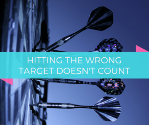 Darts Surrounding the Bull's Eye | Hitting the Wrong Target Doesn't Count | Blueprint
