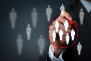 Choosing the right target audience